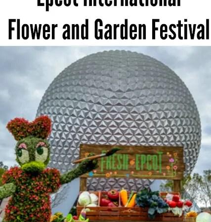 Kids Guide to the Epcot International Flower & Garden Festival