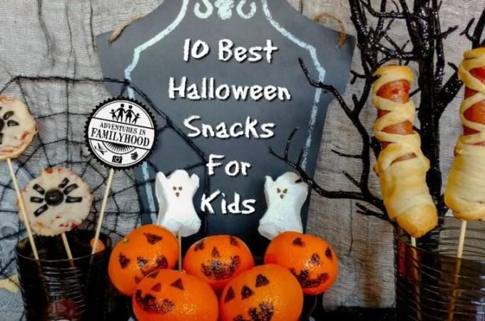 10 Best Halloween Snacks for Kids