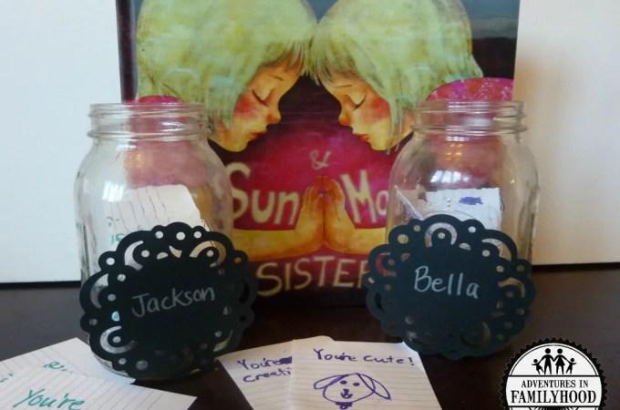 Sun and Moon Sisters follow up activity | Sibling jar