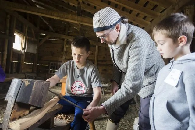 "Kids Can Travel Back in Time at ""Operation: Colonial Survivor"""