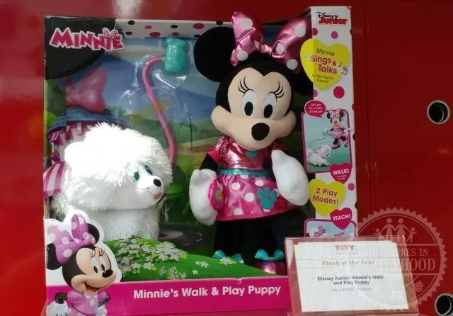 Disney Junior Minnie's Walk and Play Puppy by Just Play Products