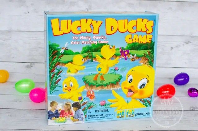 Lucky Ducks Game for Easter Basket