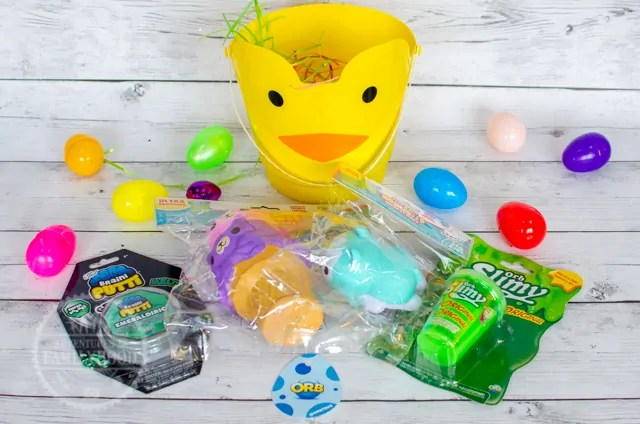 Orb Toys Squishie Slimy Easter Basket