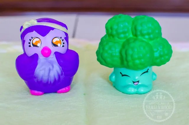 Series 3 Bird and Shopkins Broccoli Squish-Dee-Lish