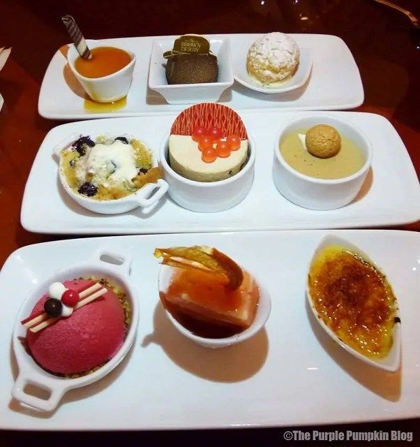 Dessert Trio from Hollywood Brown Derby at Disney's Hollywood Studios