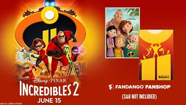incredibles 2 tickets now