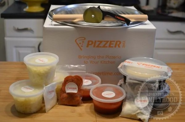 Pizzer Time Meal Box