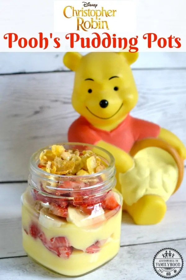 Pooh's Pudding Pots Christopher Robin