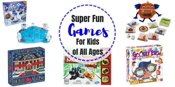 Super Fun Games for Kids of All Ages | Holiday Gift Guide