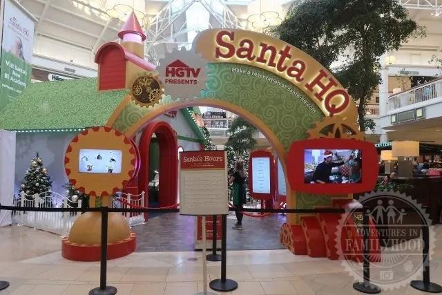 Santa HQ by HGTV at Danbury Fair Mall