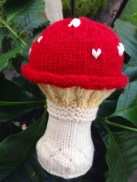 Mushroom or Toadstool Rattle