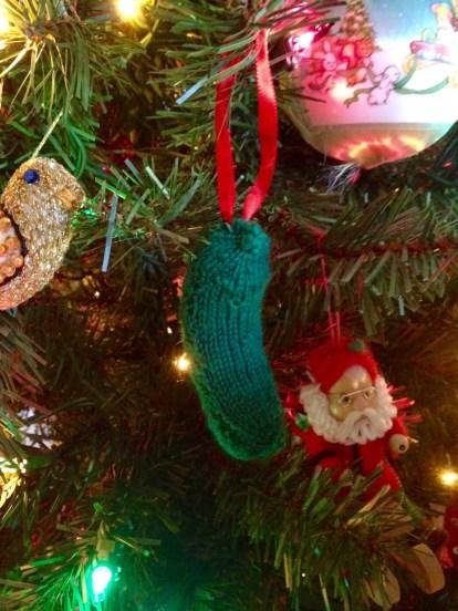 Pickle Ornament