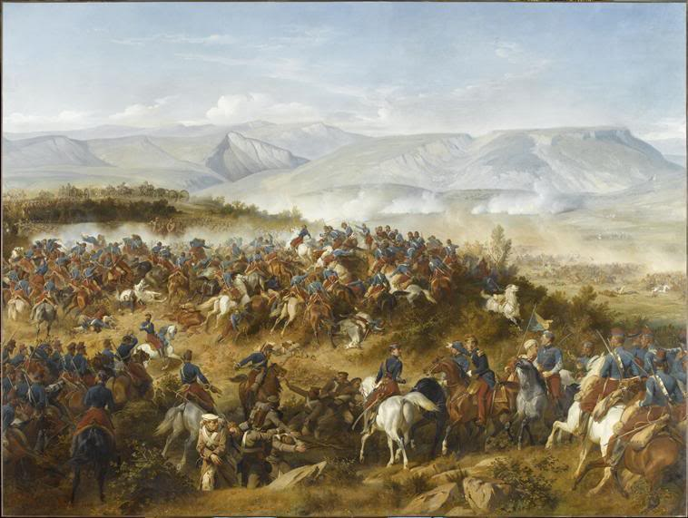 Balaclava 1854 by Felix Philippoteaux.