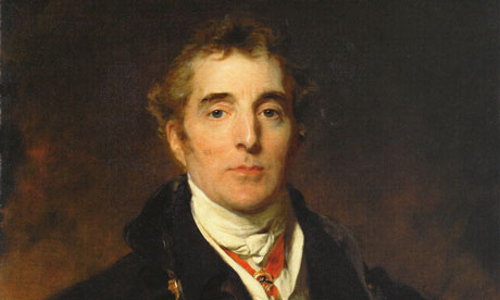 The Duke of Wellington by Lawrence.