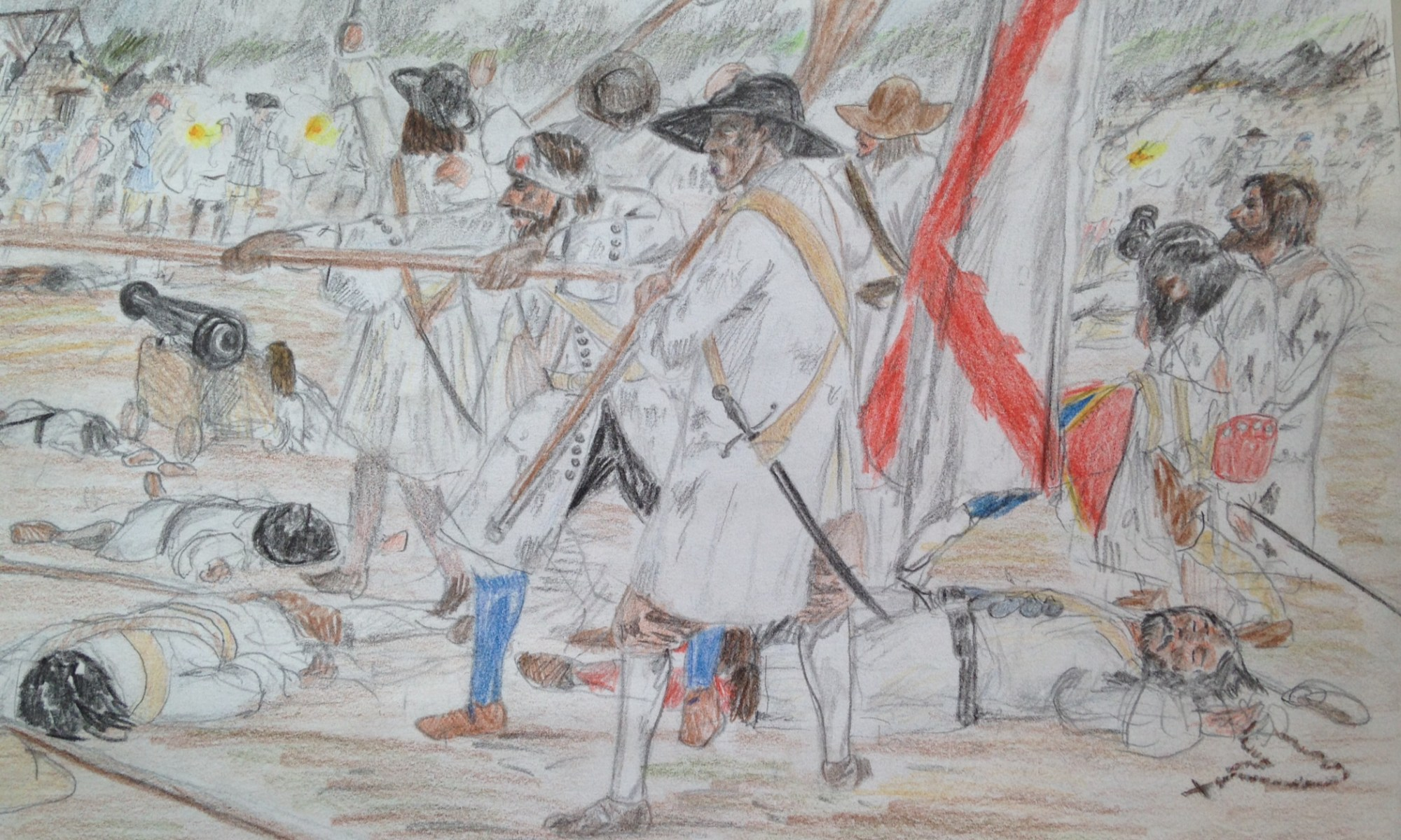 Last stand at San Lorenzo. The Spanish garrison go down fighting. By the author