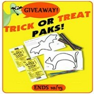Boo!!! It's a Wikki Stix Halloween Giveaway!