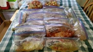 22 freezer meals