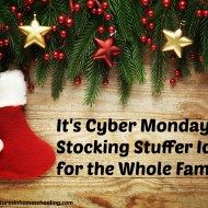 It's Cyber Monday – Stocking Stuffer Ideas for the Whole Family