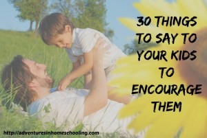 encourage your kids