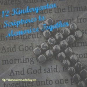 kindergarten scripture