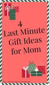 4 Last Minute Gifts for Mom