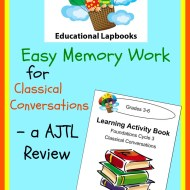 Easy Memory Work for Classical Conversations – AJTL Review