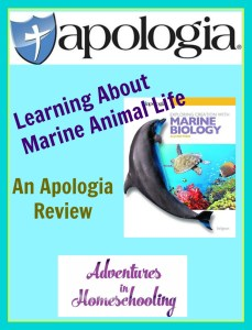 marine biology, apologia