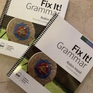 Fun with Fix-It Grammar – An IEW Review