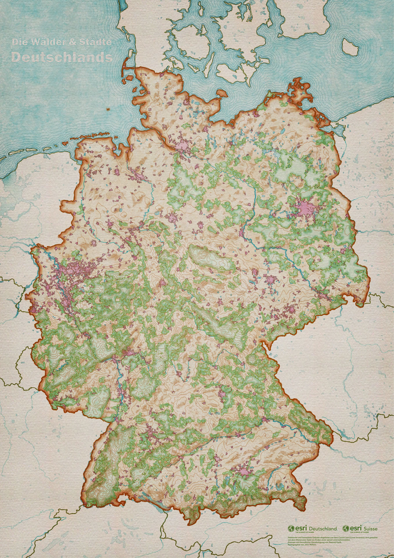 Maps Of Germany And Switzerland : germany, switzerland, Germany, Switzerland, Adventures, Mapping