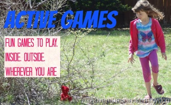 Active Games And Outdoor Games For School