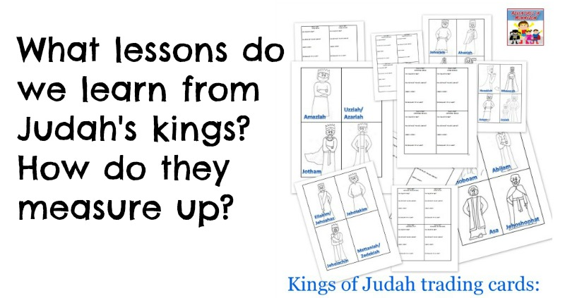 Kings of Judah lesson