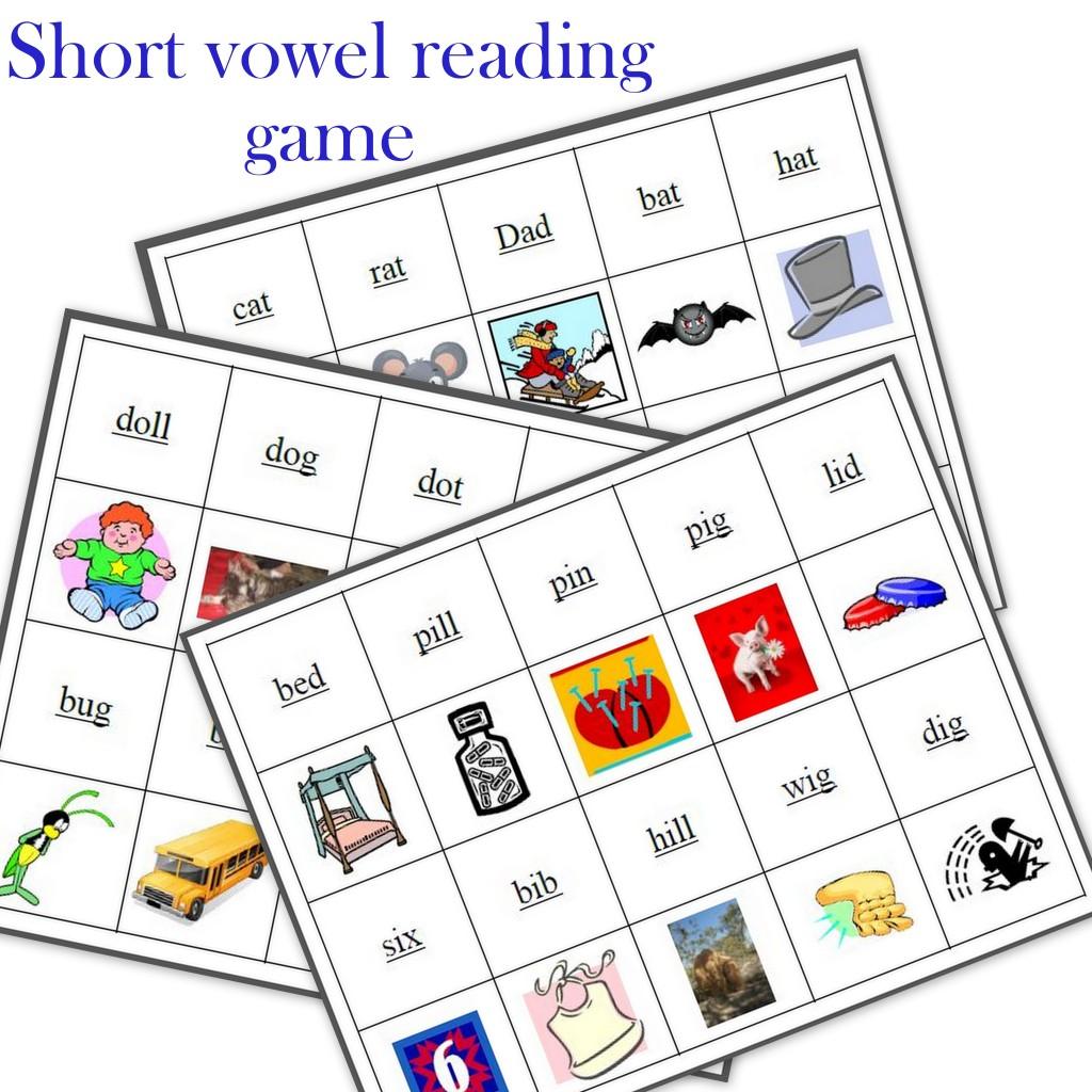 Short Vowel Worksheet Free Printable