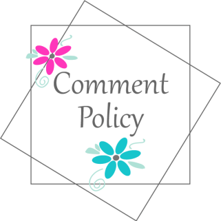 Comment Policy Graphic for Adventures in NanaLand