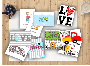 Valentine's cards for kids - Valentine's Day Ideas for Kids - Adventures in NanaLand
