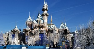 Disneyland castle in the winter - Planning a Trip to Disneyland - Adventures in NanaLand
