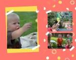 Scrapbook page of summer camp 4 - Grandma Camp Memories - Adventures in NanaLand
