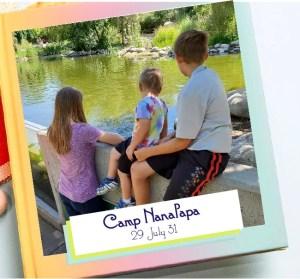 Sample photo book - Grandma Camp Memories