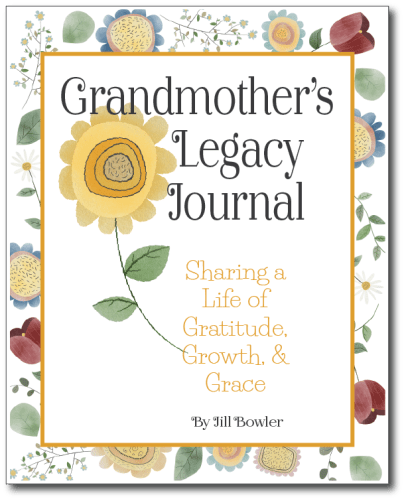 Grandmother's Legacy Journal - Write your life story - Adventures in NanaLand