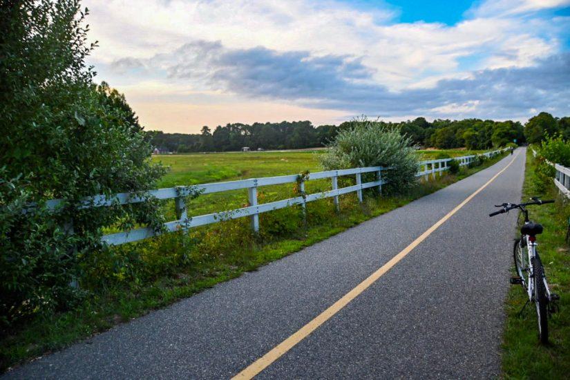 Shining Seas Bikeway on Cape Cod, Massachusetts