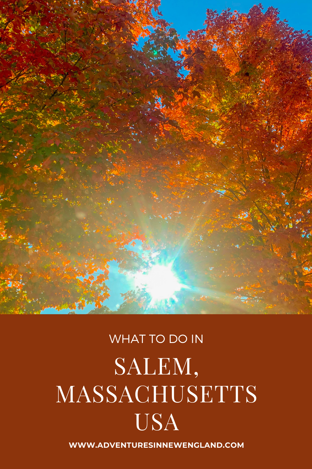 Take a day trip to Salem and explore the history and culture of this Massachusetts town on the water. #thingstodoinMassachusettss #daytripsfromBoston #mass #newenglandtravel