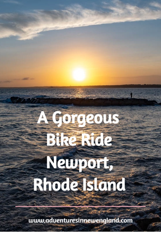 Experience the history and natural beauty of Newport, Rhode Island with a 7-mile bike ride along the coast. #NewportRI #VisitNewport #bikerides #eastcoastbikeride