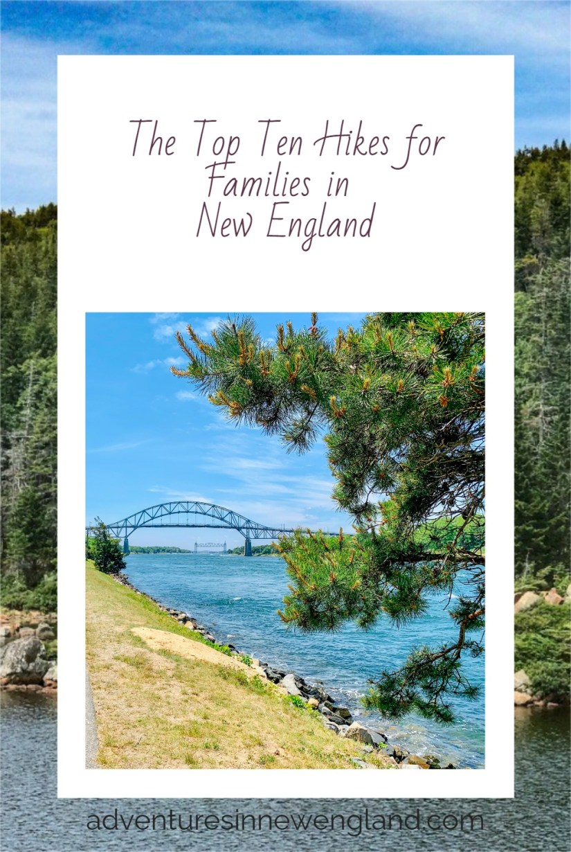Read on for the best New England hikes. Many of these hikes are easy enough for even the little ones, but pretty enough for the whole family. #hikinginNewEngland #visitNewEngland #familytravel