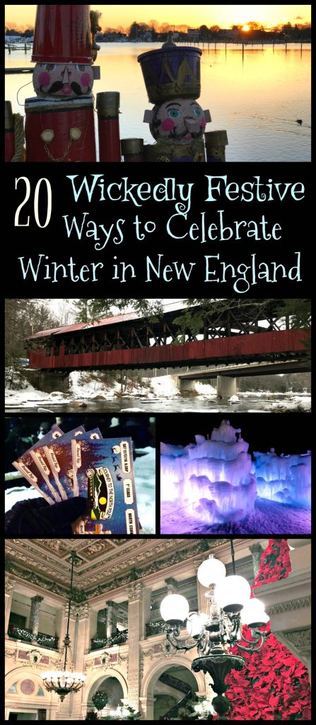 Read on for a local's list of the best New England winter activities- the historical seaport towns and snowy mountains are full of winter possibilities! #winterinNewEngland #visitEngland #wintertravels