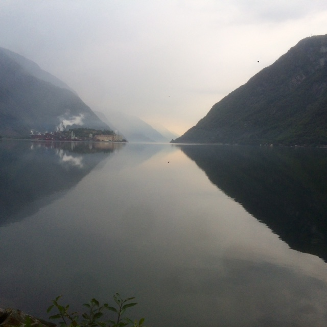 Odda to Bergen travelling through a beautiful misty Norway