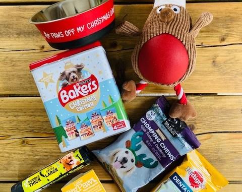 Christmas Dog Goodies Giveaways