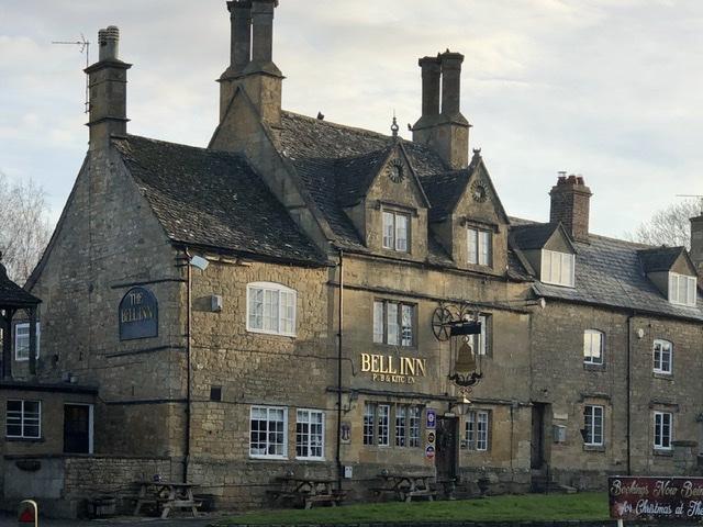 The Bell Inn, Willersey, on adventures in our van blog