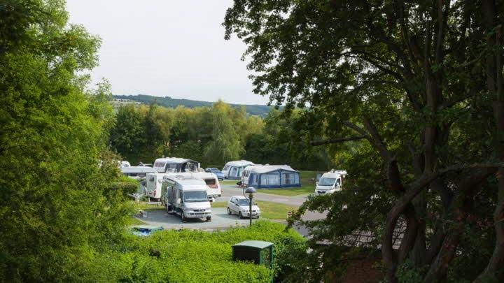 Broadway Caravan Club Campsite on asventuresinourvan.com blog