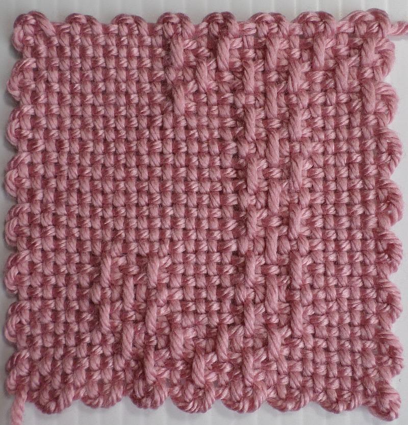 Letter J 4 31 X 31 Pattern Adventures In Pin Loom Weaving