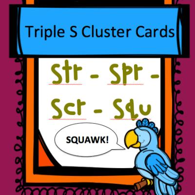 Triple S-Blend Cards *Freebie*