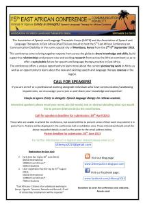 Upcoming SLP Travel & Volunteer Opportunities